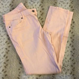 The Limited light pink denim jeans size 10